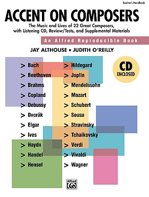 Accent on Composers By Althouse, Jay/ O'Reilly, Judy